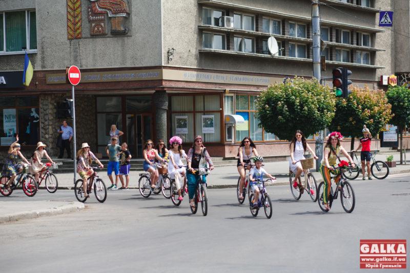 В Івано-Франківську відбудеться традиційний велопарад дівчат