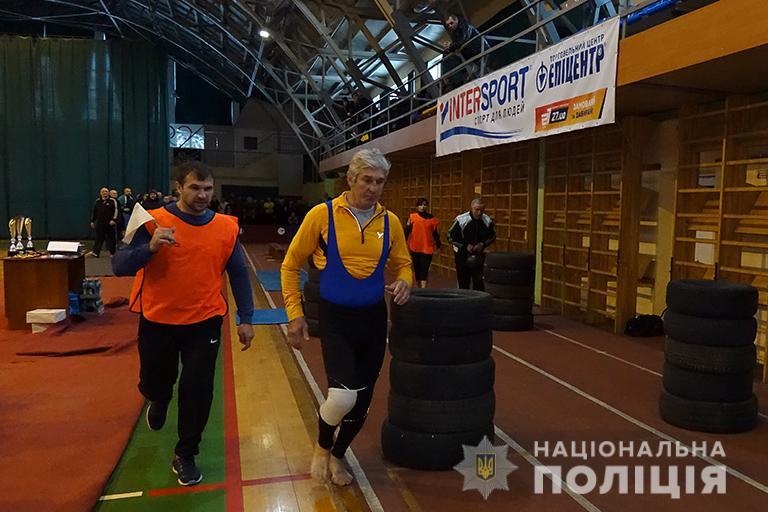 Для прикарпатських ветеранів МВС та Нацполіції України провели змагання (ФОТО)