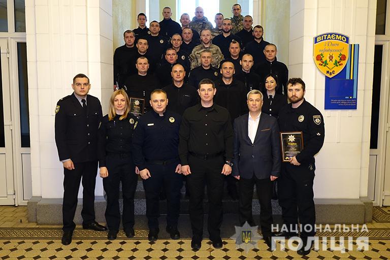 За сумлінну службу найкращі поліціянти області отримали гроші і подяки (ФОТО)