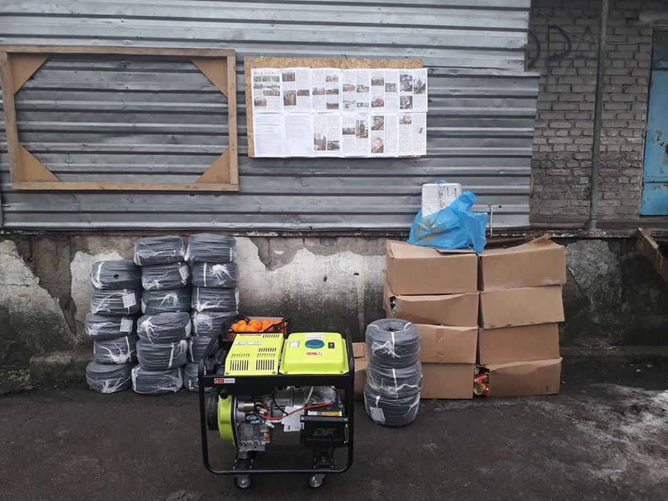 Делегація з Франківська передала бійцям ООС гуманітарну допомогу (ФОТО)
