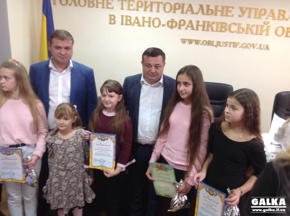 У Франківську нагородили переможців конкурсу «Портрет виконавця очима сучасної молоді» (ФОТО)
