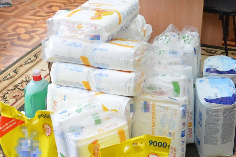 Працівники СБУ відвідалиНадвірнянський будинок дитини (ФОТО)