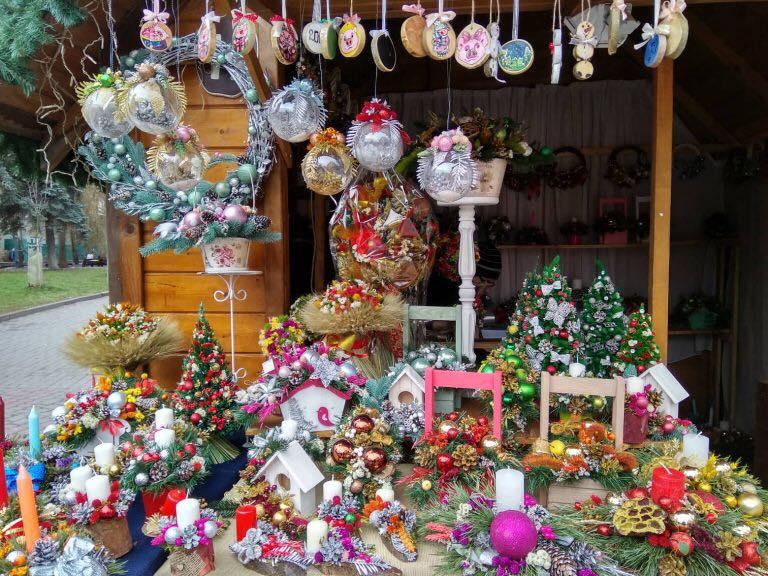 В центрі міста розпочав роботу фестиваль-ярмарок «Зимова казка» (ФОТО)