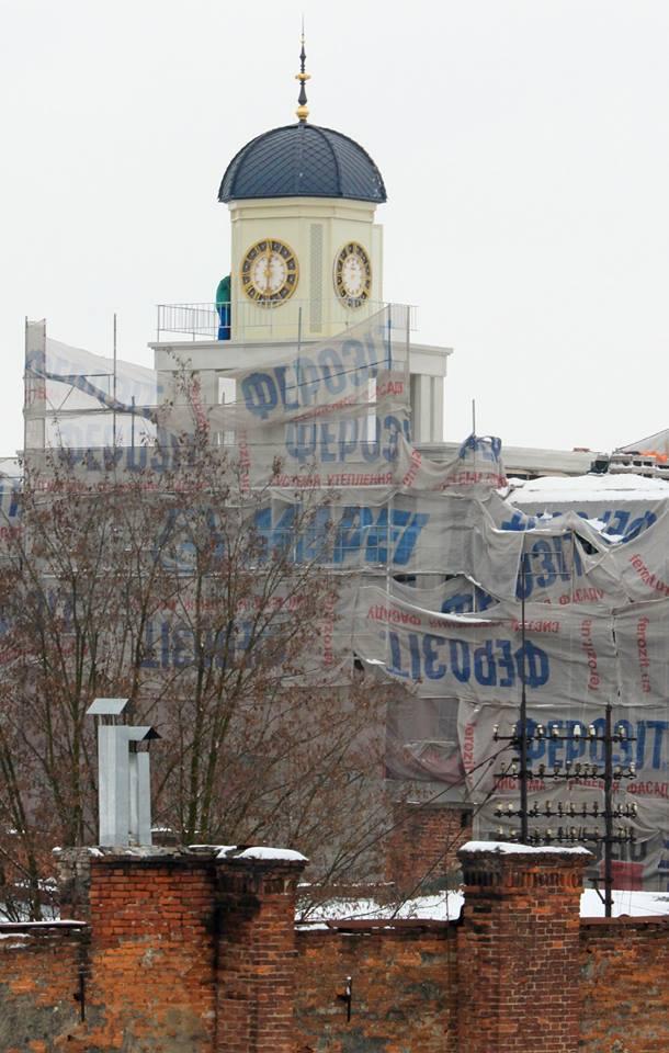 """У Франківську відкрили вежу на """"Дністрі"""". Реставрація сподобалася не всім (ФОТО, ВІДЕО)"""