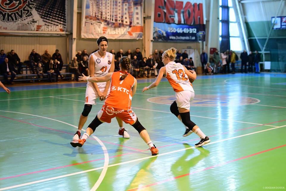 Франківські баскетболістки перемогли команду з Рівного (ФОТО)