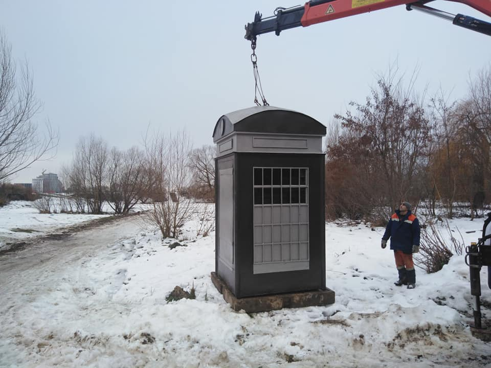 Марцінків вже готується молитися в капличці біля озера (ФОТО)