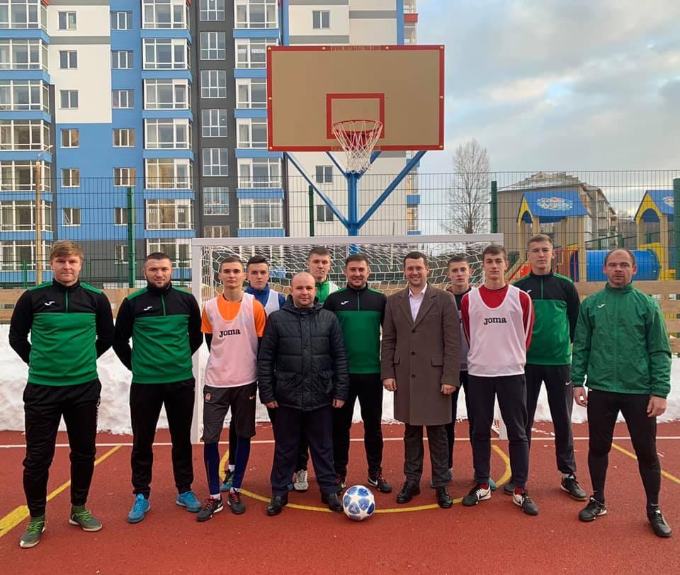 На БАМі відкрили сучасний спортивно-відпочинковий майданчик (ФОТО)