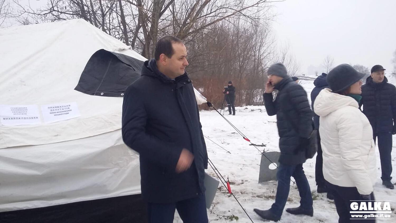 """Ми бандитам місто не віддамо, – мер директору фірми """"Гаразд Україна"""" (ФОТО, ВІДЕО)"""