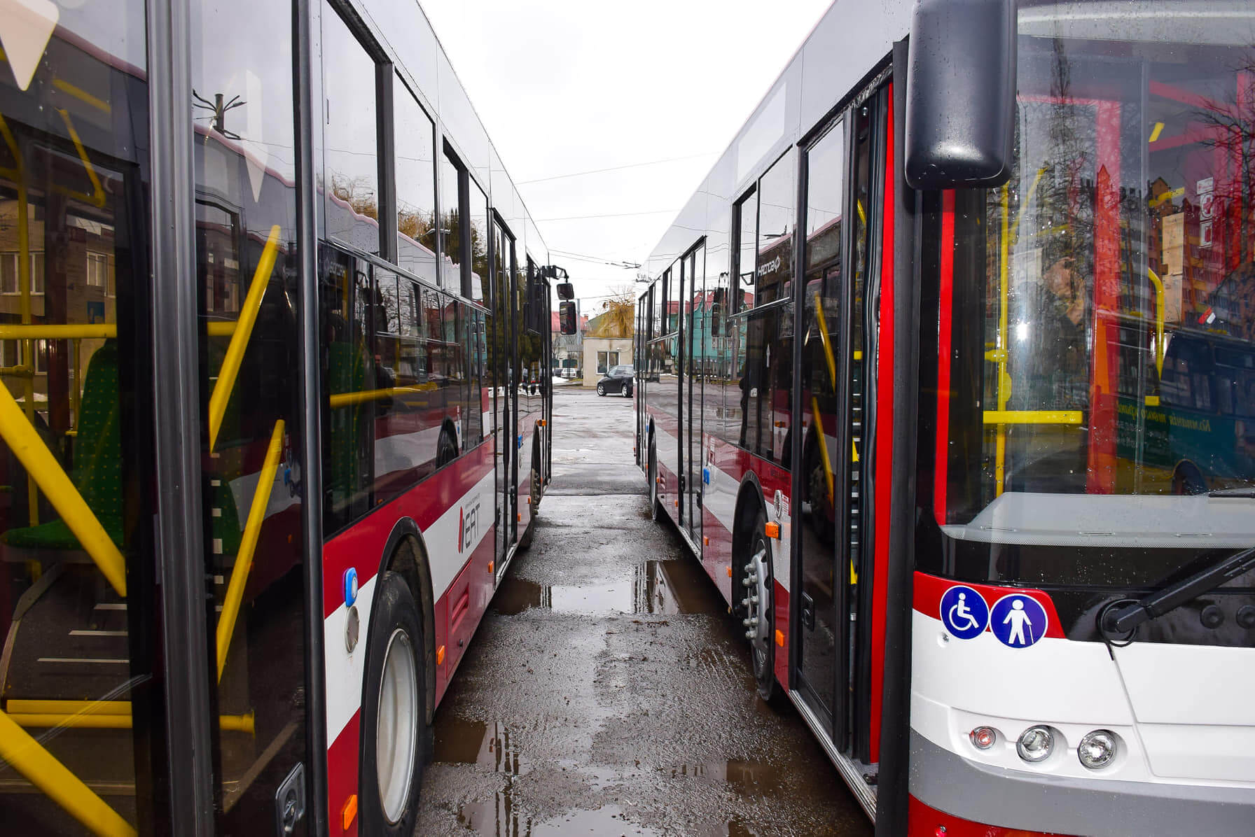 За два роки кількість комунального транспорту у Франківську має сягнути 50%, – Марцінків
