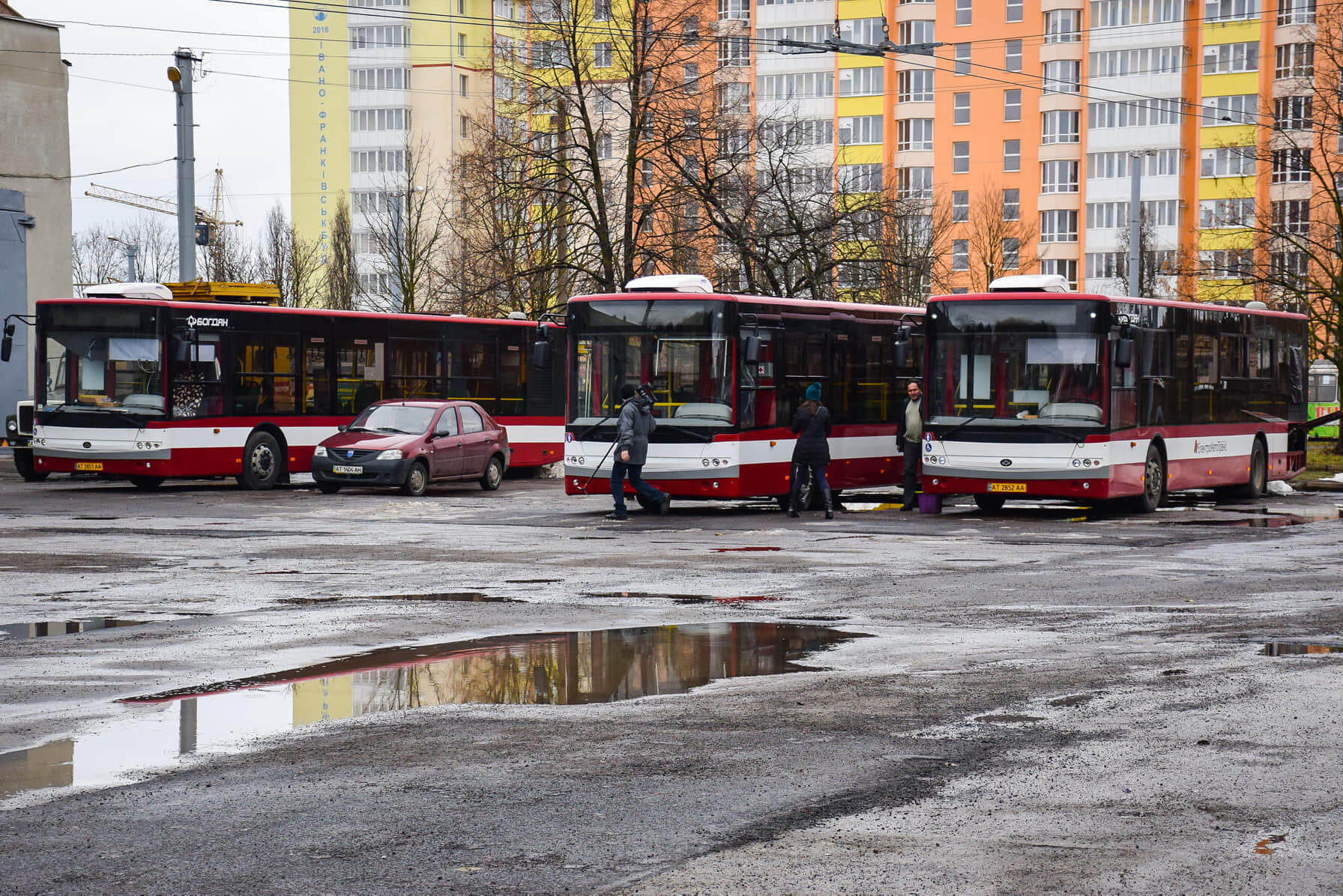У Франківську створюють новий комунальний маршрут з Пасічної у Крихівці