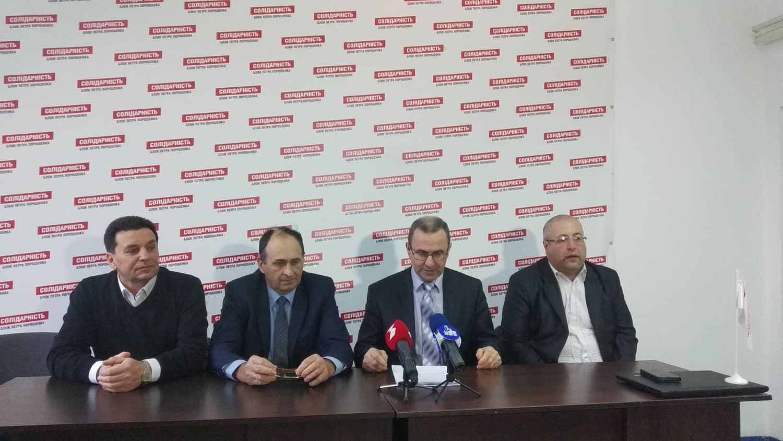 Три новообрані голови прикарпатських ОТГ – представники БПП Солідарність