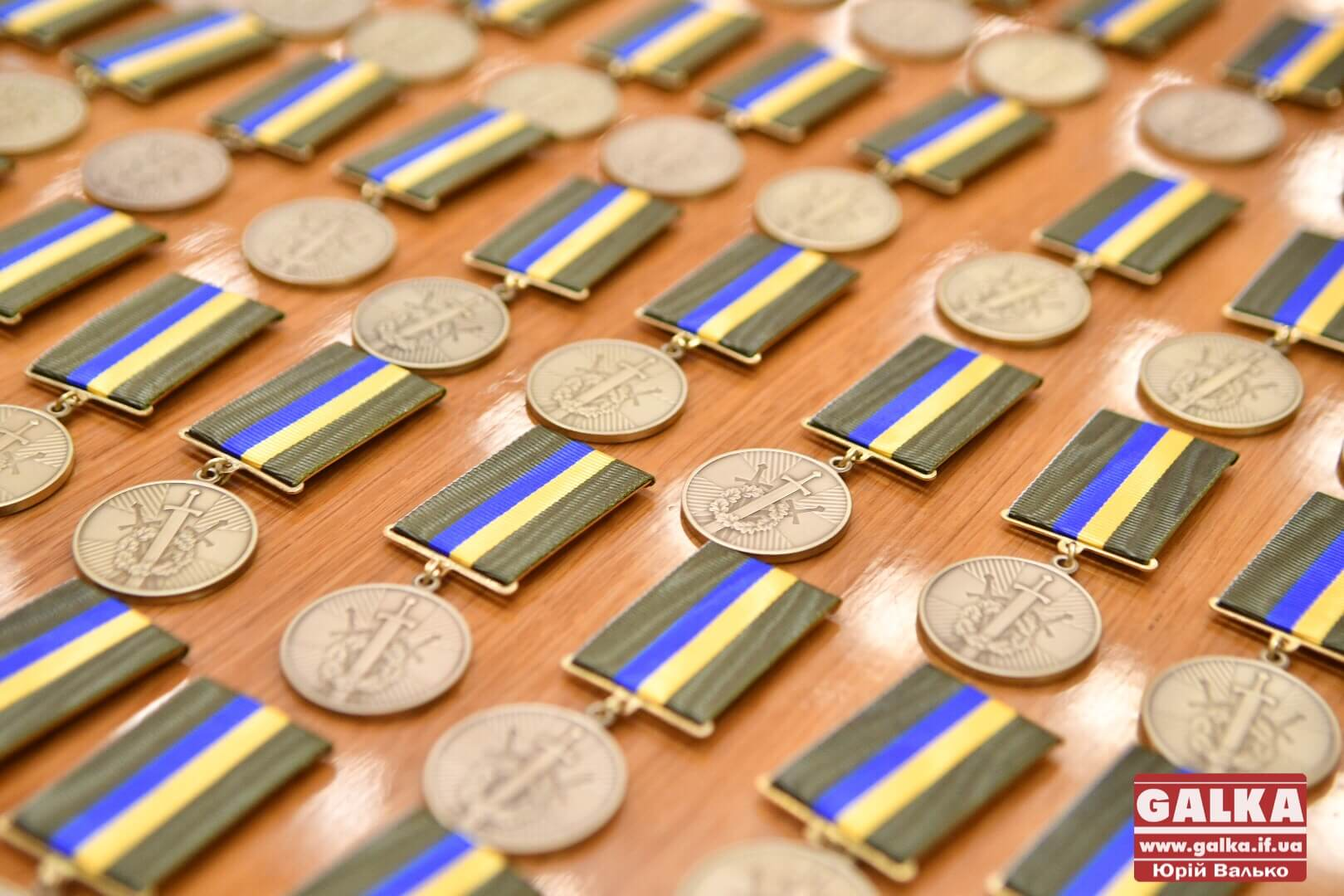 У Франківську відзнаками президента України нагородили учасників бойових дій (ФОТО)