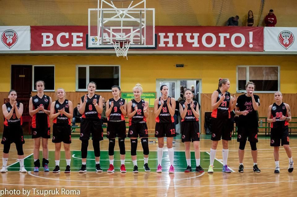 Франківські баскетболістки перемогли Вінницьких Блискавок