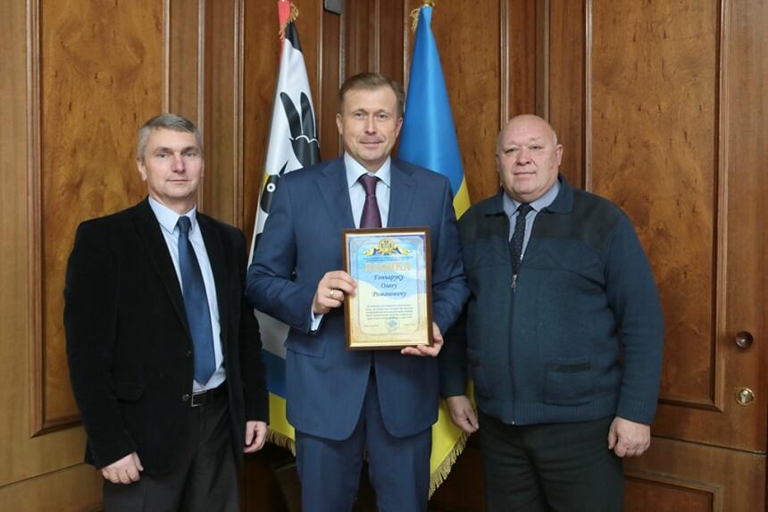 Голова Івано-Франківської ОДА отримав відзнаку за волонтерство (ФОТО)