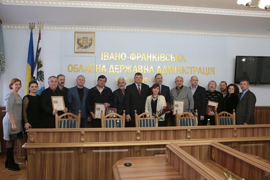 Прикарпатських митців відзначили престижними преміями (ФОТО)