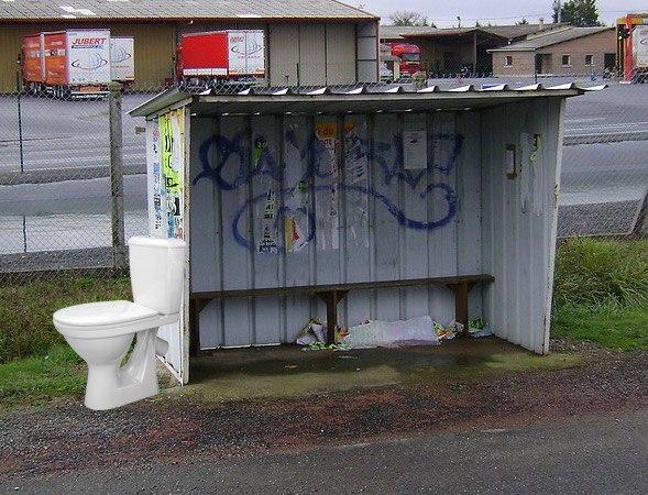 Зупинки транспорту в Україні можуть обладнати туалетами та електронними табло