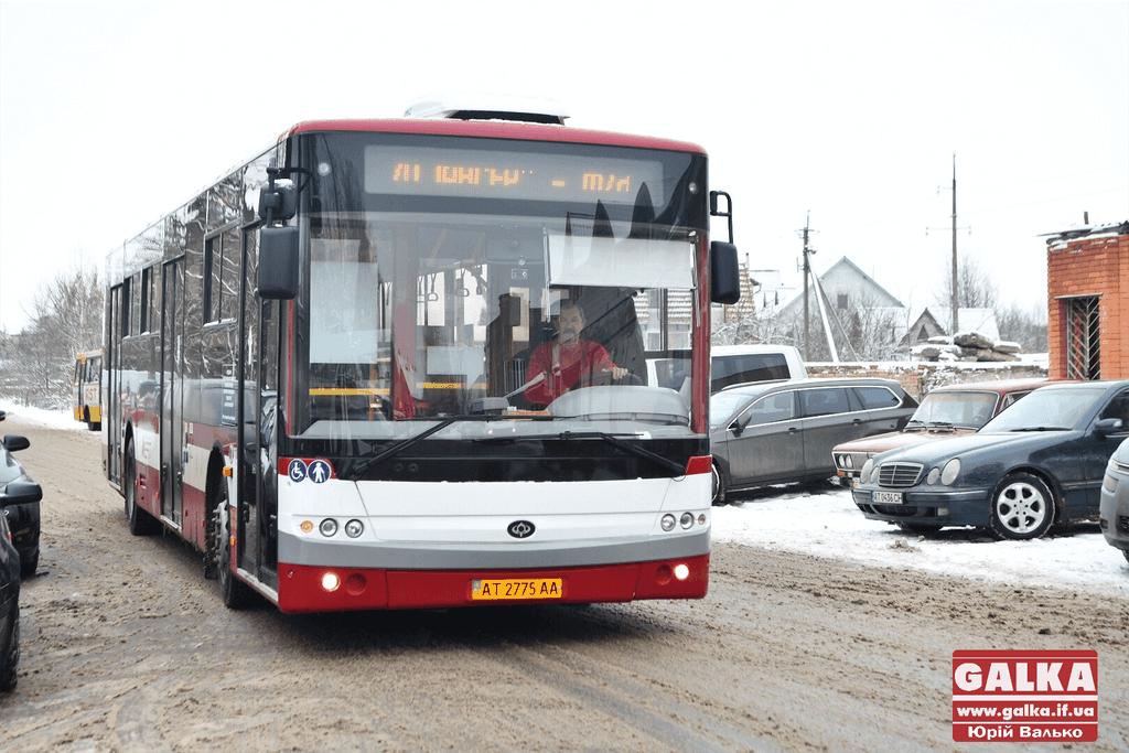 У Франківську запустили комунальний маршрут з новими автобусами на лінії (ФОТО)
