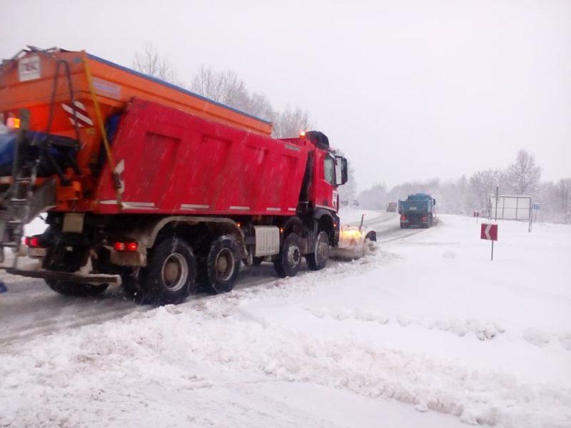 Штормове попередження: до середи на Прикарпатті снігопади та хуртовини