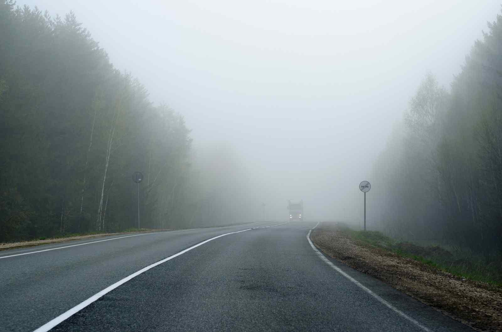 Прикарпатців попереджають про погану видимість на дорогах через туман