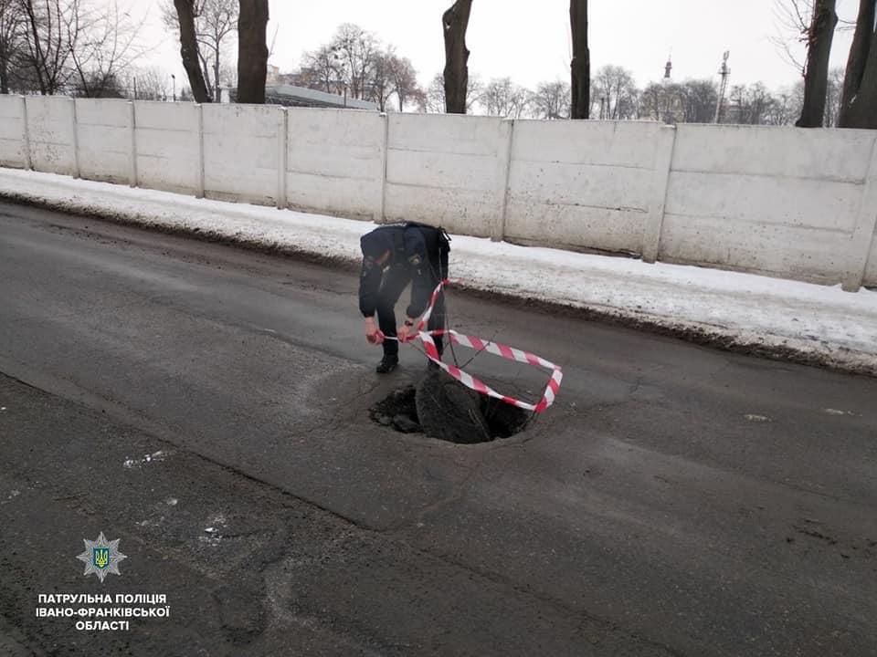 У Франківську через поганий стан доріг трапились п'ять ДТП (ФОТО)