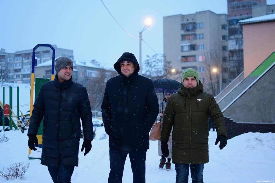 У Франківську встановили нове освітлення в дитячому садку (ФОТО)
