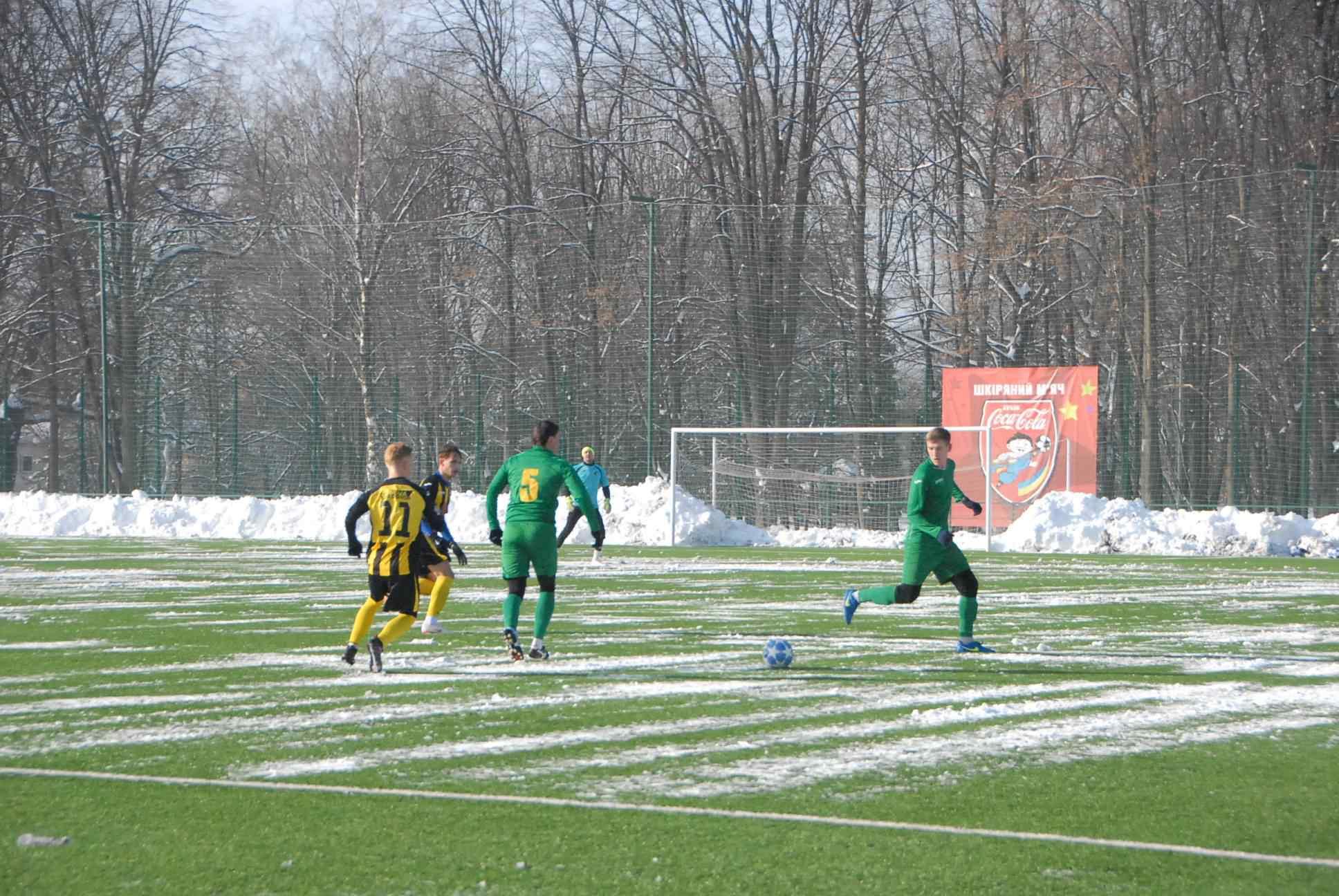 """Футболісти """"Прикарпаття"""" програли перший зимовий контрольний поєдинок (ФОТО)"""