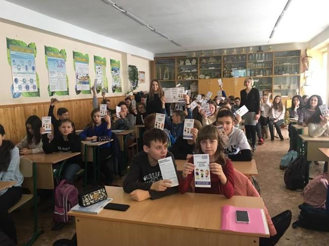Франківським школярам розповідали, як протидіяти булінгу (ФОТО)