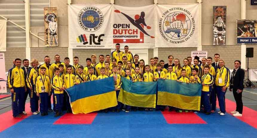 Прикарпатські тхеквондисти у складі збірної перемогли на турнірі в Нідерландах (ФОТО)