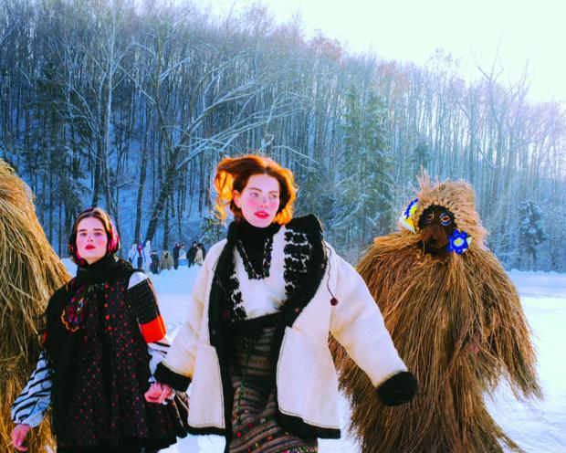 """Український Vogue зняв фотосесію """"Маланки"""" на Прикарпатті (ФОТО)"""