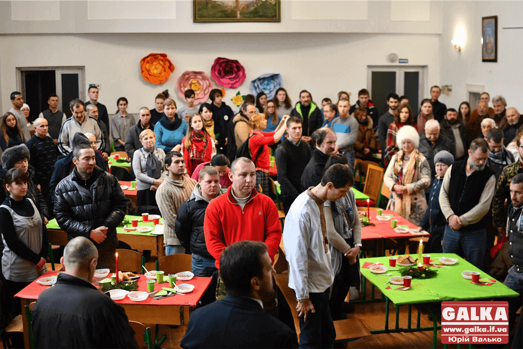 У Франківську для потребуючих організували благодійний різдвяний обід (ФОТО)