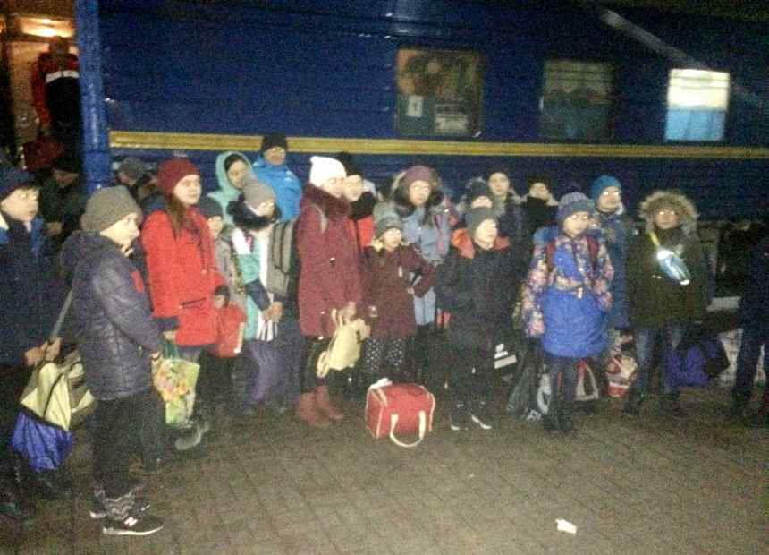 На Прикарпатті відпочиватимуть діти зі східних областей України