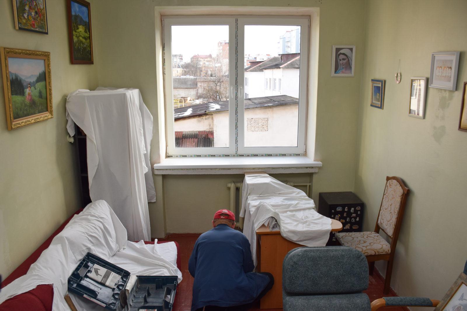 У міському пологовому завершують ремонт відділення інтенсивної терапії для дорослих