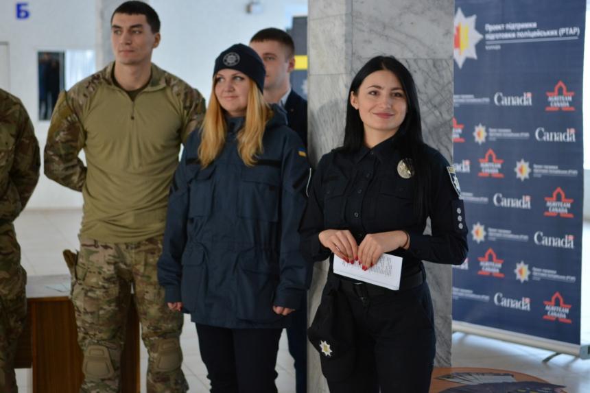 У Франківську реалізується проект «Міжкультурна поліцейська лабораторія» (фоторепортаж)