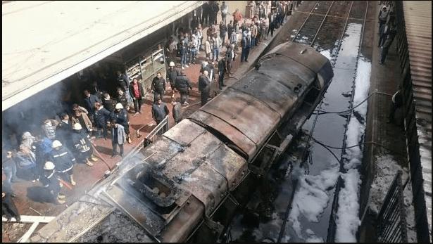 У Каїрі на вокзалі вибухнув потяг: понад 20 осіб загинули, ще півсотні – поранені (ФОТО, ВІДЕО)