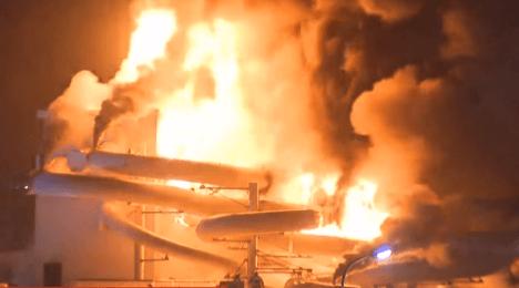 У Бельгії згорів аквапарк за 33 мільйони євро (ВІДЕО)