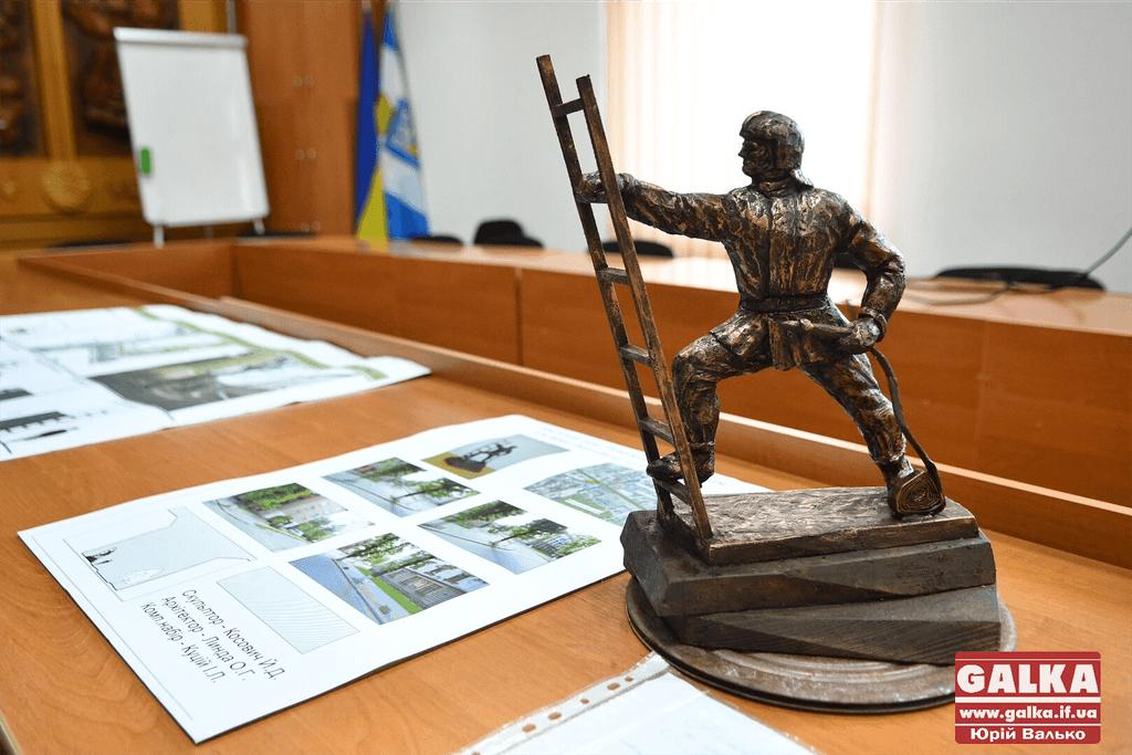 """Результат пошуку зображень за запитом """"Франківськ пам'ятник пожежнику"""""""