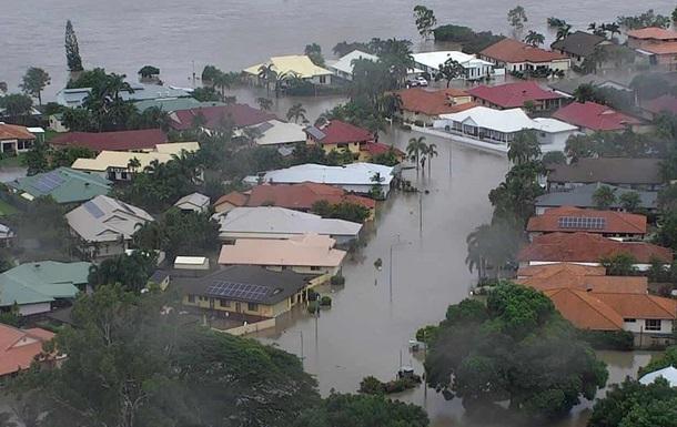 В Австралії місто затопило водою з крокодилами