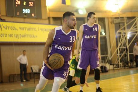 Калуські баскетболісти дізналися суперників на другому етапі ліги