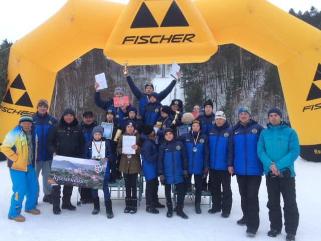 Юні прикарпатські лижники тріумфували на Чемпіонаті України