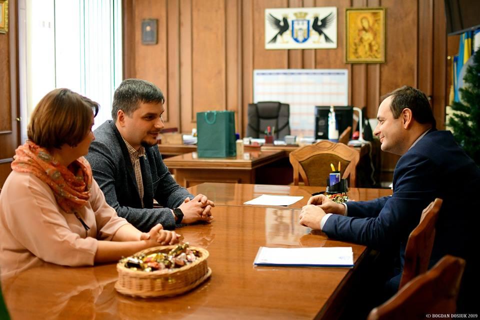 Секретар Краматорської міськради приїхав переймати досвід Марцінківа (ФОТО)