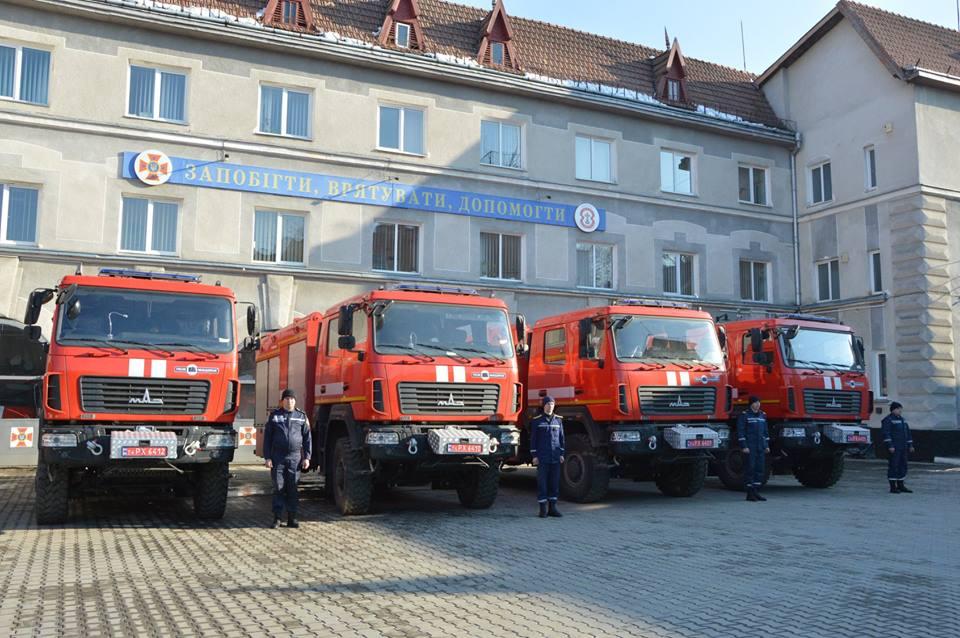 """Результат пошуку зображень за запитом """"Автомобільний парк Прикарпатських рятувальників поповнився новими пожежними автомобілями"""""""