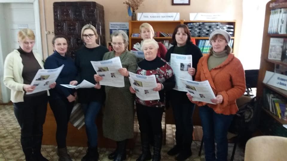 На Прикарпатті бібліотекарок вчили, як зупиняти насильство (ФОТО)
