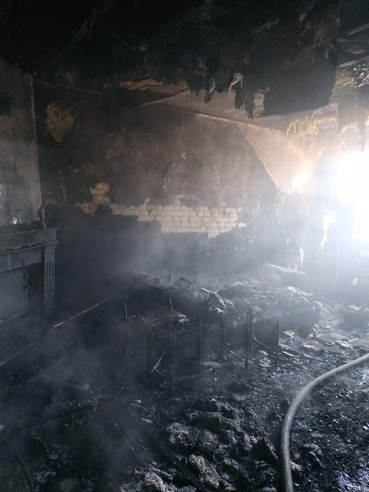 У Болехові з палаючої квартири врятували людину (ФОТО)