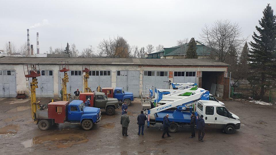 Автопарк Івано-Франківськміськсвітла поповнився новою технікою (ФОТО)