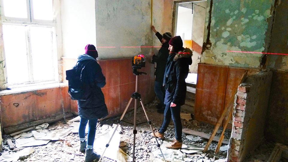 Львівські фахівці розробляють проектневідкладних протиаварійних робіт у палаці Потоцьких (ФОТО)