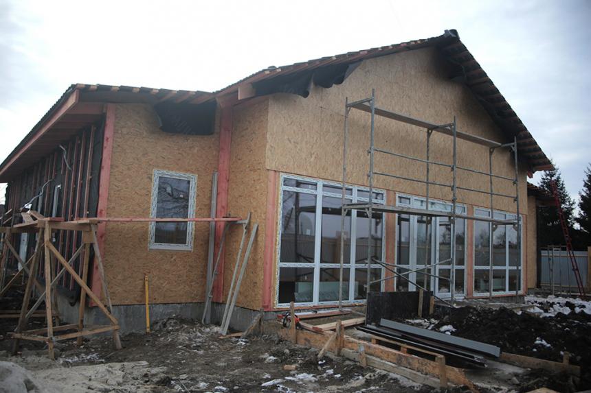 У селі на Тисмениччині будують амбулаторію (ФОТО)