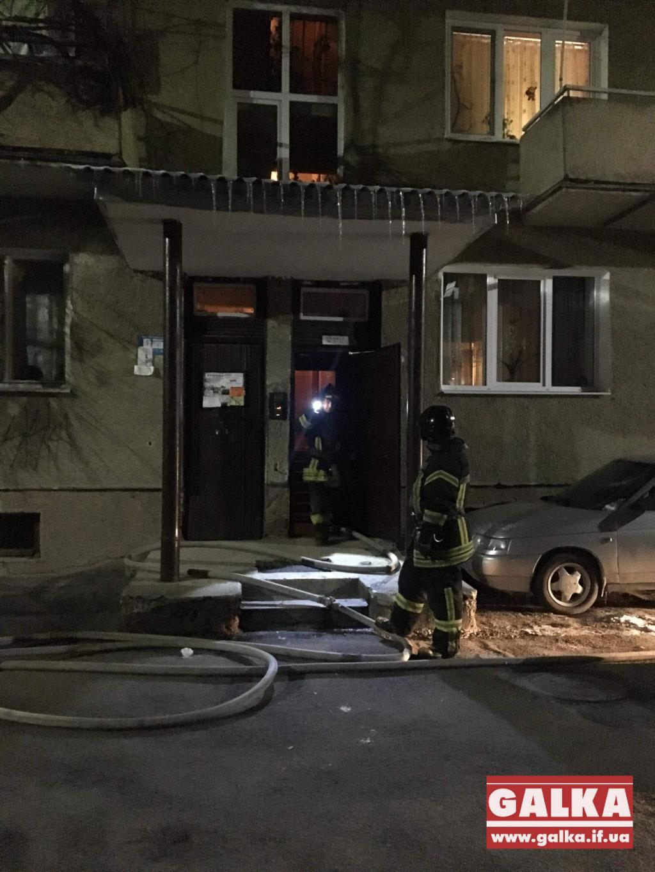 У Франківську через коротке замикання горіла квартира (ФОТО)