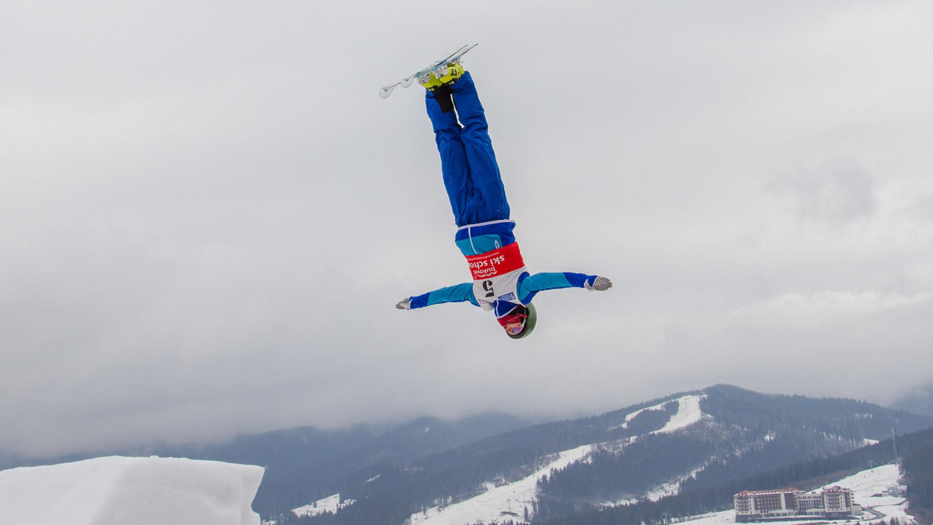 Чемпіонат України з лижної акробатики проведуть на Прикарпатті (ПРОГРАМА)