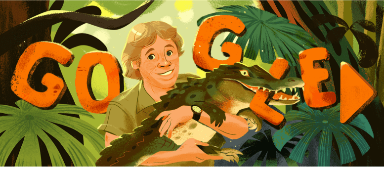 Хто такий Стів Ірвін і чому Google присвятив йому дудл (ВІДЕО)