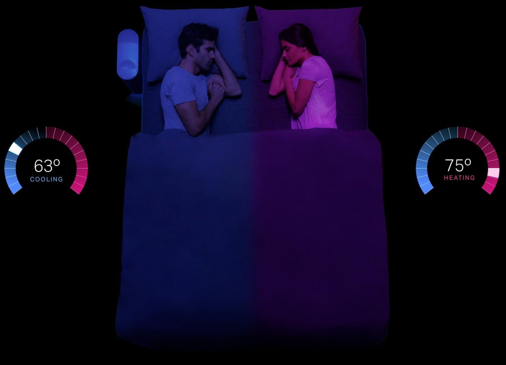 У США створили ковдру, яка може мати різну температуру для двох у ліжку